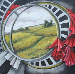 Painting, Susan Kunz, Trenton, IL